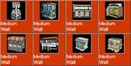 MediumWall icons