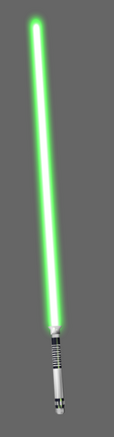 File:Green lightsaber.png