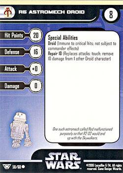 58 CF Card R5 Astromech Droid