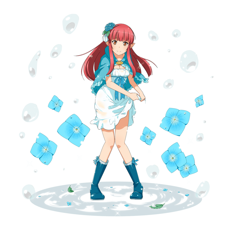 -Raindrops Girl- Rain | Sword Art Online: Memory Defrag ...