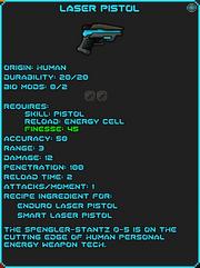 IGI Laser Pistol