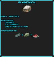 Blandwich Recipe