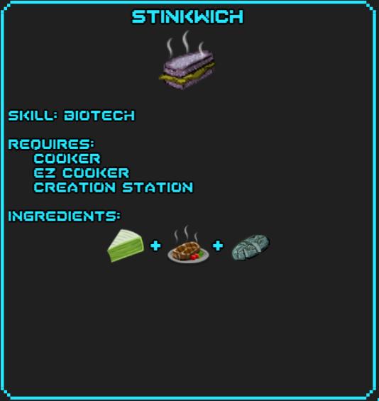 Stinkwich Recipe