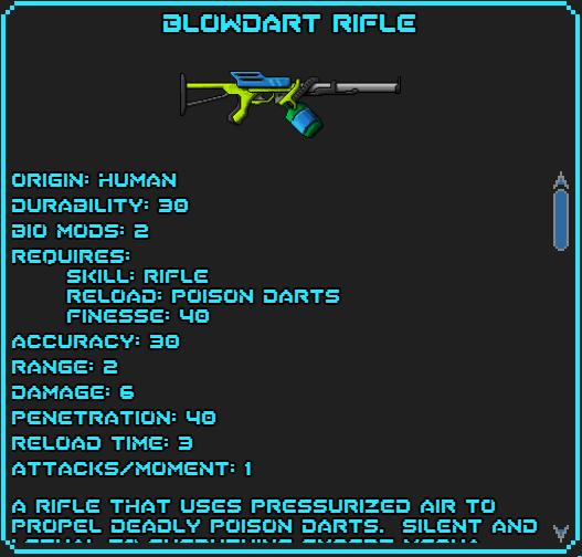Blowdart Rifle