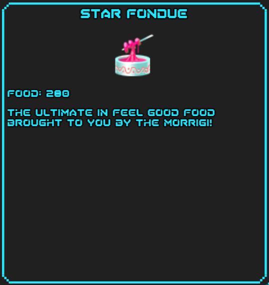 Star Fondue SotsDex