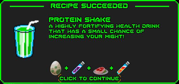 Protein shake-recipe