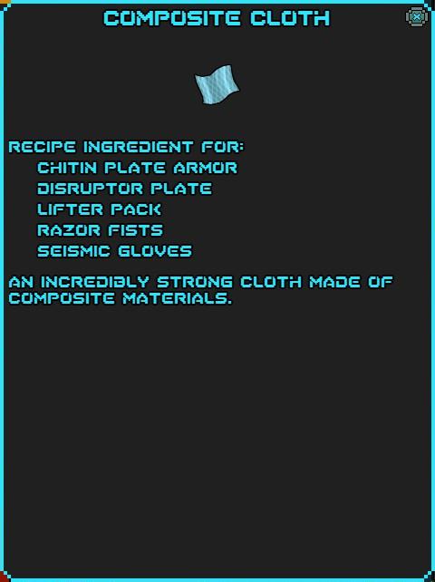 IGI Composite Cloth