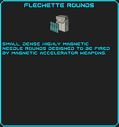 Flechette Rounds SotsDex