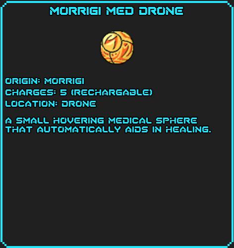 Morrigi Med Drone info
