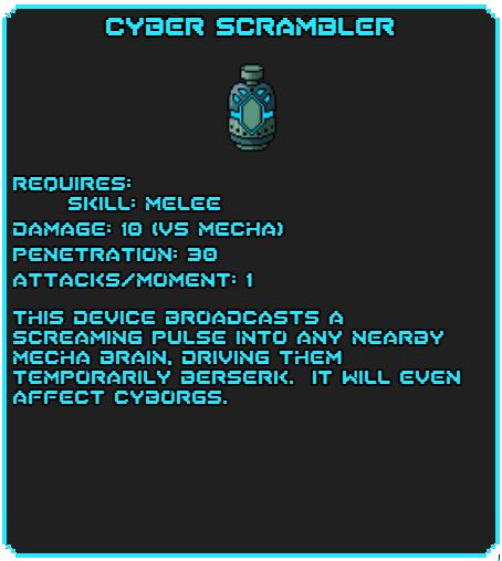 Cyber Scrambler tag