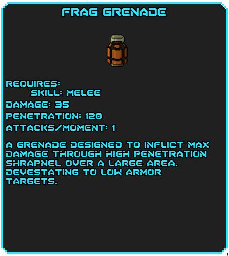 Frag Grenade tag