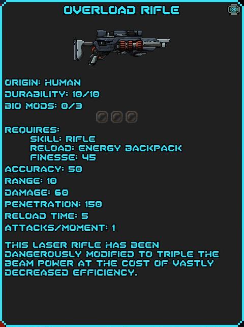 IGI Overload Rifle