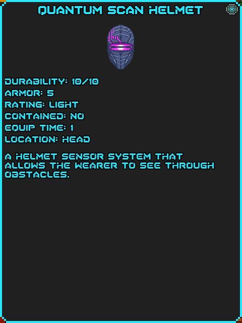Quantum Scan Helmet