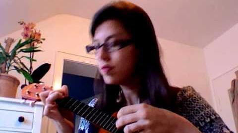 Sword and Laser podcast theme on ukulele-0