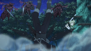 Kirito interrupts the battle