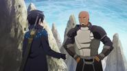 Agil and Kirito in episode 5