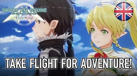 Sword Art Online Lost Song - PS4 PS Vita - Take flight for adventure! (English Trailer)