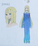 Second Season Animation Art Book Verdandi concept
