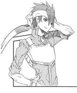 Klein's custom SAO avatar (Aincrad manga)