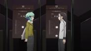 Kirito and Sinon talking about their block