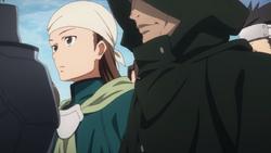 PoH watching Kirito vs Kuradeel duel