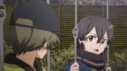 Shino venting her anger about Kirito to Kyouji