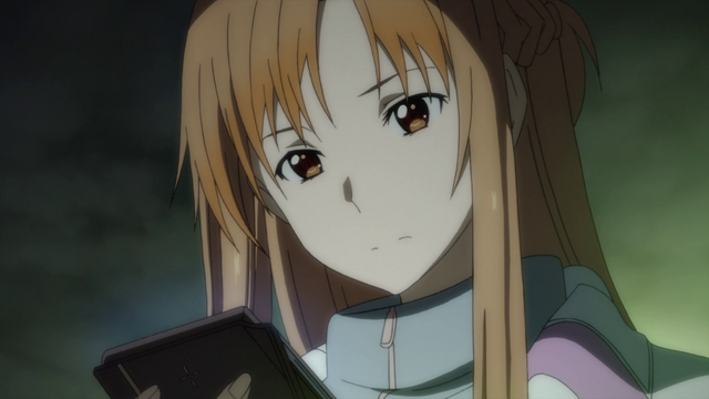 File:Asuna wondering whether to call Kazuto.png