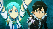 Asuna's realisation