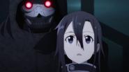Death Gun approaching Kirito