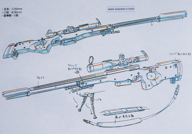 File:Sterben Design Works II artbook Gun 3 Silent Assassin.png