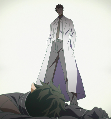 File:Kayaba Akihiko appearing to the fallen Kirito in ALO.png