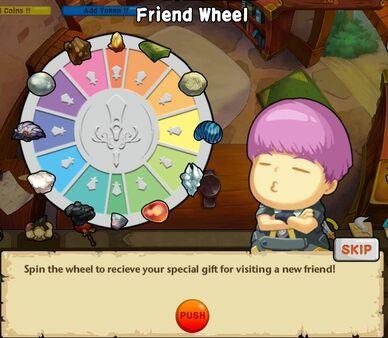 Friend Wheel