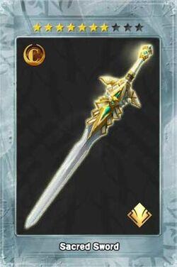 Sacred Sword New
