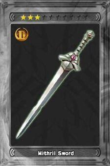 Mithril Sword New