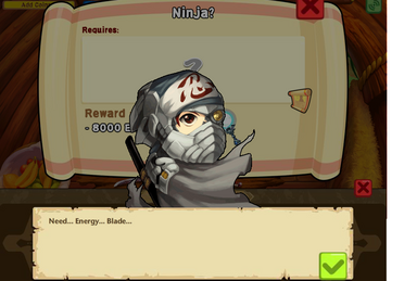 Swordquest ninja