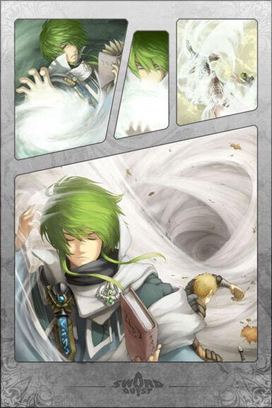Manafury Manga