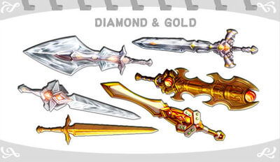 Diamond & Gold
