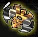 Golden shuriken