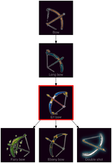 ResearchTree Elf bow