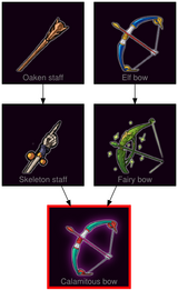 ResearchTree Calamitous bow