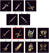 ResearchTree Knights sword
