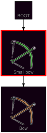 ResearchTree Small bow