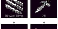 Circus knives