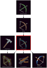 ResearchTree Long bow