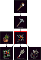 ResearchTree Steel mace