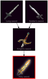 ResearchTree Holy sword