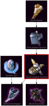 ResearchTree Transmundane hammer