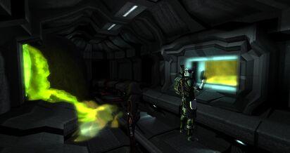 Hall of Decessus - Victoria Lumos and Commander Nohl