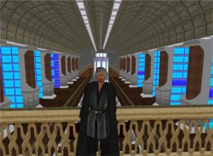 Jedi Master on Coruscant