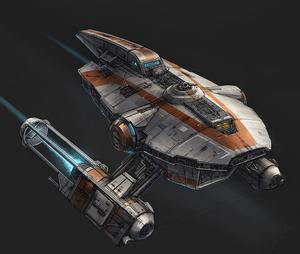 Republic Transport shuttle (art)